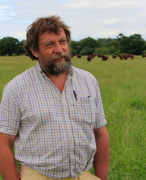 Roger Beecroft, herd manager for Legacy Grazing
