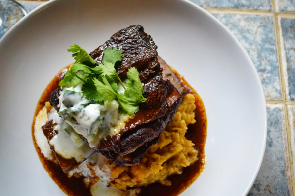 Curried beef short ribs