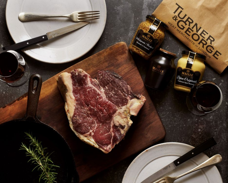 Limited Edition Maille Mustard and Porterhouse Valentine's Box