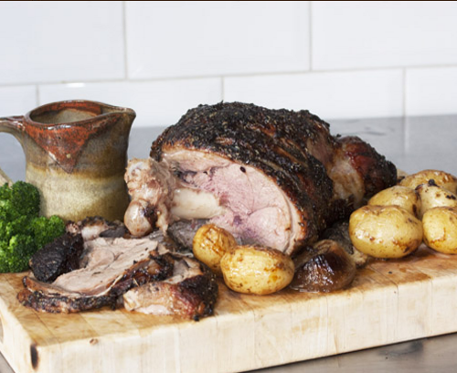 MAPLE ROASTED LEG OF LAMB